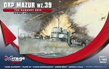 ORP MAZUR WZ.39- THE  GUNNERY SHIP - WW II, 1/400, MIRAGE HOBBY 400202
