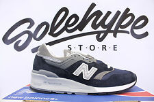 NEW BALANCE 997 NAVY BLUE GREY OG REISSUE NB MADE IN THE USA M997NV SZ 6
