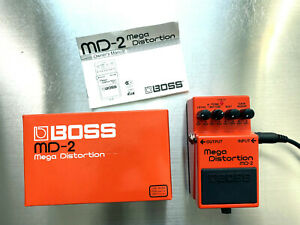 BOSS - Mega Distortion Pedal, OVP, TOPP Zustand