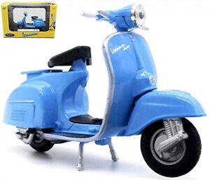 Piaggio Vespa 150CC 1954-79 Motor Scooter Blue 1:18 Welly