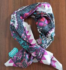 Écharpes et châles foulards violet pour femme, en 100% soie
