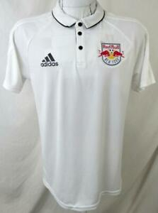 New York Red Bulls Men Medium Short Sleeve Climalite Polo Shirt NRB 7