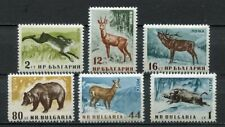 33432) BULGARIA 1958 MNH** Animals 6v Scott #1004/09