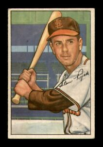 1952 Bowman Set Break # 137 Stan Rojek EX *OBGcards*