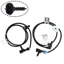 2 Front ABS Wheel Speed Sensor for Chevy Silverado Avalanche Cadillac Escalade