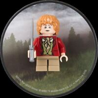 LEGO LORD OF THE RINGS BILBO BAGGINS STING LOCKER MAGNET LOTR BIRTHDAY GIFT NEW