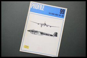 AIRCRAFT Profile Publications No.99 The Focke-Wulf FW 200 Aviation Series