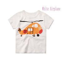 Boys Kids Casual Various Pj Short Sleeve Cartoon T shirts Tops clothes 2-6 Years