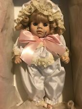 Limited Edition Hand Painted Porcelain, Dolls by Pauline