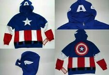 Marvel Avengers Captain America Boys Youth Sweatshirt Hoodie SIZE M 8/10 Mask