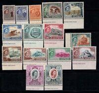 Cyprus 1955 Mi. 164-178 MNH 100% Queen Elizabeth II, Landscapes, Culture