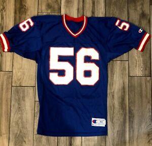 Vintage NOS 80s Champion NY GIANTS Lawrence Taylor Football Sz 40 Jersey #56