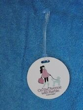 2018 Barbie Doll Convention On The Avenue With Barbie Luggage Tag