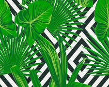 AS Alfresco Palm Leaf Wallpaper Botanical Green 368112