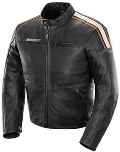 Joe Rocket Dakota Jacket - Leather Motorcycle Riding Street Bike Cruiser Mens