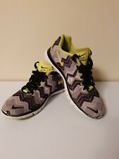 Nike Free TR Fit 3 Breathe Cross Print Training Shoes Trainers UK 3l6 EUR 40.