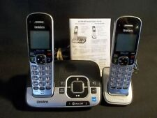 UNIDEN CORDLESS PHONE AND BASE WITH ADDITIONAL HANDSET AND CHARGER