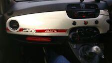 Abarth Dashboard Dash Sticker / Decal RED