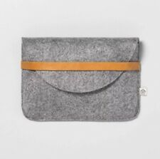 NEW Heather Gray Clutch HEARTH & HAND w/ Magnolia by Joanna & Chip Gaines