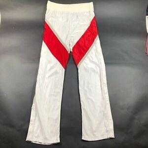 Vintage 90s UNLV Runnin Rebels Side Snaps Pull Away Satin Warm Up Pants 38 3XL