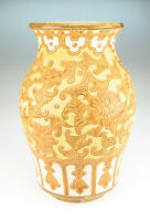 Vietnamnesische Dona Keramik Vase Saigon Vintage vietnamese art pottery ceramic