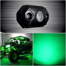 AURORA LED ROCK LIGHT (GREEN) CREE LEDS 495 LUMENS 9W (1 Rock Light)