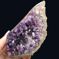 Natural Amethyst Geode Vug Purple Crystal Cluster Uruguay Specimen Reiki 314G