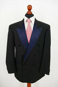 Hugo Boss Smoking Anzug Gr.48 100% Schurwolle White Label Top Zustand