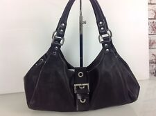 Luis Esteve Shoulder Handbag In Brown Leather. Excellent Condition
