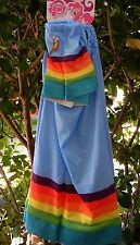 My Little Pony Rainbow Dash Arm & Leg Hoofwarmer 4pc Costume Accessory Set NEW