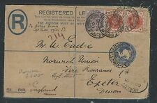 SOUTH AFRICA (P0512B) 1900 BOER WAR GB USED IN FROM FIELD PO TO ENGLAND