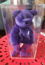 Ty Beanie Baby ~ 1997 PRINCESS (Diana) Bear *RARE & RETIRED* Lot 481 Red Stamped