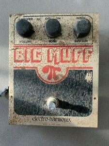 Electro harmonix Vintage Big Muff Pi - 1979 EH1322 circuit board