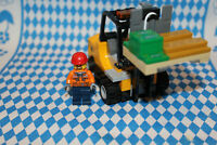 WOW -  Lego Gabelstapler / Forklifter  aus 60198 neu mit Minifigur  KOMPLETT ***