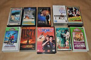 Videocassette VHS - Film di guerra e militari