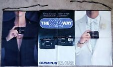 Rare Olympus XA XA2 Large Store Sales Banner NOS Collectible- Over 30 Years Old!