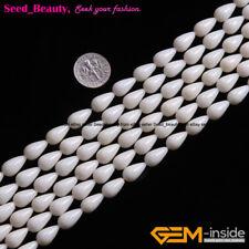 "Coral Stone Beads Jewelry Making Necklace Bracelet Drop Gemstone 15""7x12mm DIY"