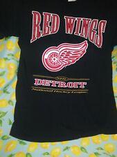 Nhl Detroit Red Wings T Shirt Lee Sport Sz L �