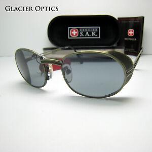 Swiss Army Small Photochromic Glacier Sunglasses Climbing Mountaineering Shields