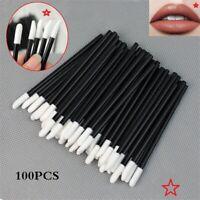 100/5pcs Disposable Lip Brush Gloss Lipstick Wands Applicator Brush  Makeup TOOL