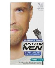 JUST FOR MEN Brush-In Color Gel for Mustache - Beard, Blond M-10/15 1 Each (8pk)