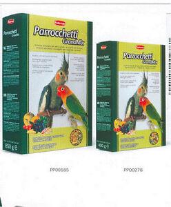 12 pz. PADOVAN MANGIME GRANDMIX PARROCCHETTI PAPPAGALLI da 850 g totale 10,2kg