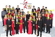THE YOUNG AND THE RESTLESS Cast Pic3224 STEVE BURTON Jeanne Cooper SHARON CASE +