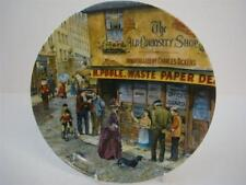 BRADEX DAVENPORT THE MATCH SELLER CRIES OF LONDON OLD CURIOSITY SHOP PLATE
