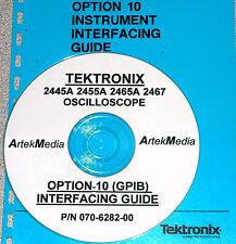 TEKTRONIX  2445A 2455A 2465A 2467 OPTION 10 GPIB MANUAL