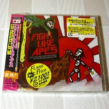 Fight Like Apes And The Mystery Of The Golden Medallion JAPAN CD+2 Sealed #100