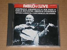STEPHANE GRAPPELLI, JOE PASS - TIVOLI GARDENS, COPENHAGEN - CD COME NUOVO (MINT)