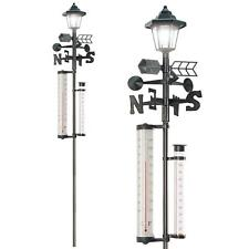 More details for all in 1 weather station solar lamp wind direction anemometer rain temperature