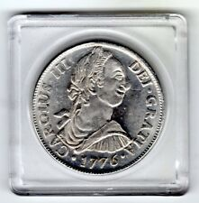 "1776 8 REAL PILLAR DOLLAR MEXICO (Mo)) ENCAPSULATED ""NOT GENUINE"" A+ FILLER COIN"