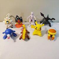 Pokemon McDonalds & Burger King Figures Toys Lot - MewTwo Pikachu Solgaleo +MORE